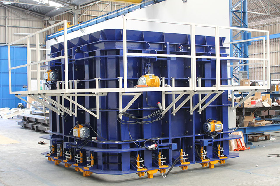 The MT20 box culvert production system will make its debut in Mexico