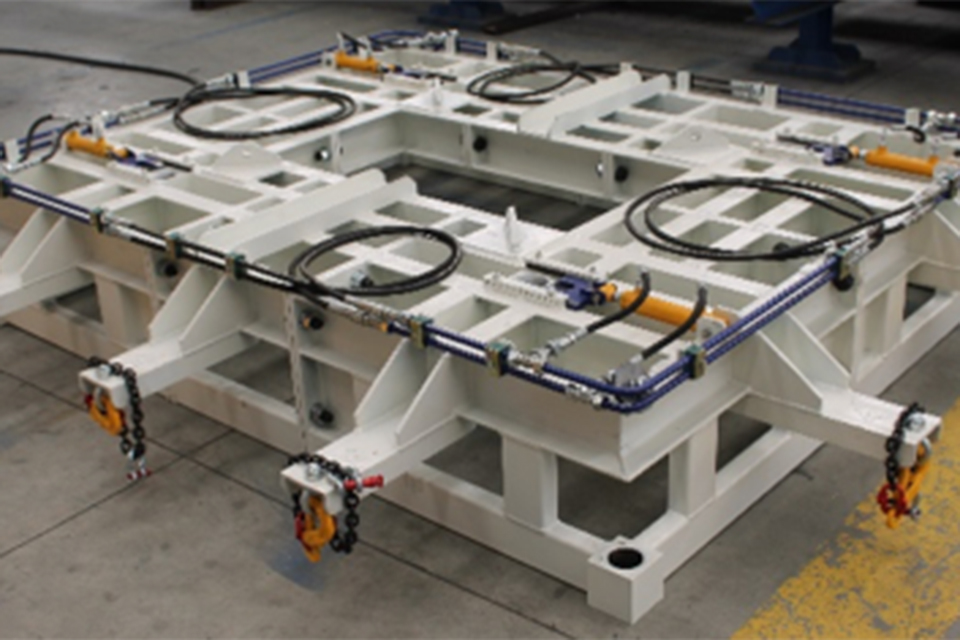 EQUIPMENT FOR THE PRODUCTION OF BOX CULVERTS