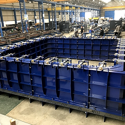MODULAR MOULD FOR WET-CAST BOX CULVERTS