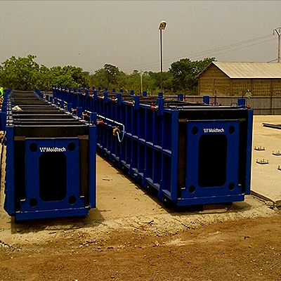 EQUIPMENT FOR PRODUCTION OF ROADWAY PRECAST ELEMENTS IN TOGO, BENIN AND GUINEA CONAKRY