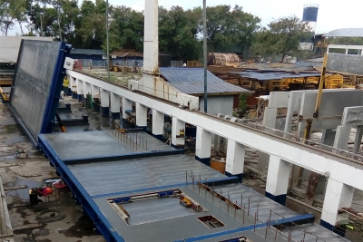 Tilting tables for a precast manufacturer in Philippines
