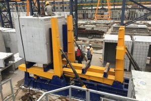 Commissioning of 3D hydraulic moulds in Singapore