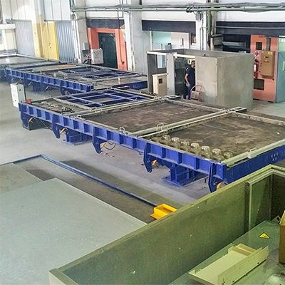 Precast power substations production plant