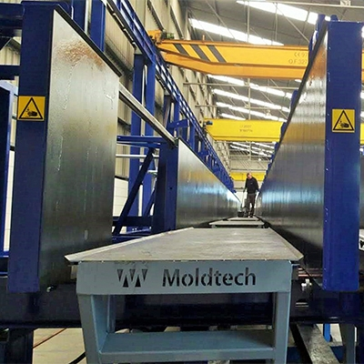 Double column mould for Mexico